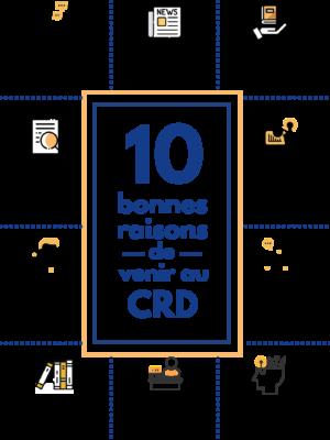 10 bonnes raisons de se rendre au Centre de Ressources Documentaire du CRFPE